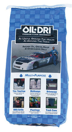 Oil Dri Oil Absorbent Bagged 8 lb.