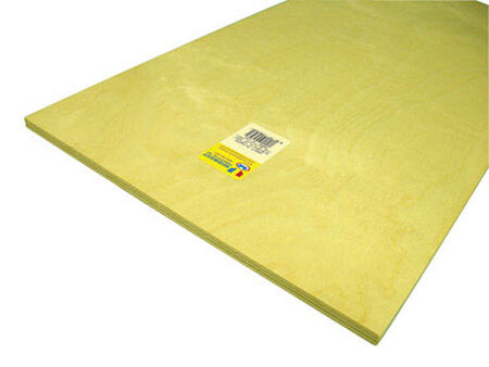 Midwest Products 3/8 in. x 1 in. W x 2 in. L Plywood Plywood