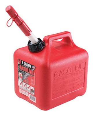 Midwest Can Plastic Gas Can 2 gal.