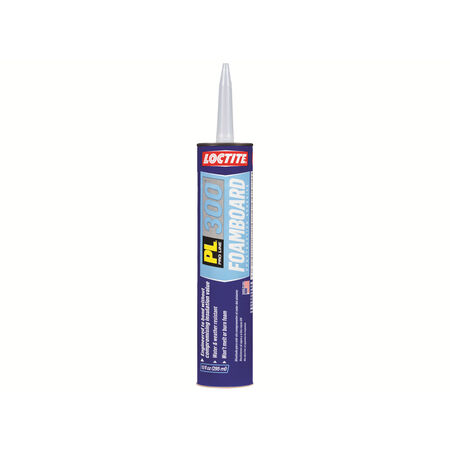 Loctite PL 300 Foamboard Acrylic Latex Construction Adhesive 10 oz.