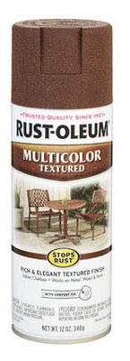 Rust-Oleum Stops Rust Autumn Brown Textured Multicolor Textured Spray 12 oz.