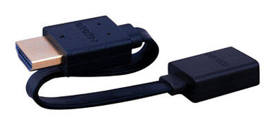 Monster Just Hook It Up 1 ft. L HMDI to Jack Adapter HDMI