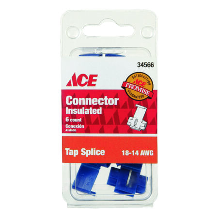 Ace Industrial Tap Splice Connector 6 Copper Red