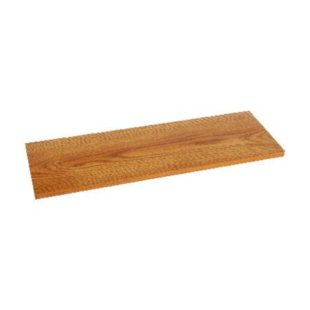 Knape & Vogt 8 in. H x 48 in. L x 8 in. W Oak Particleboard/Melatex Laminate Shelf Board