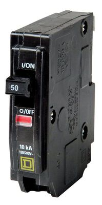 Square D QO Single Pole 50 amps Circuit Breaker