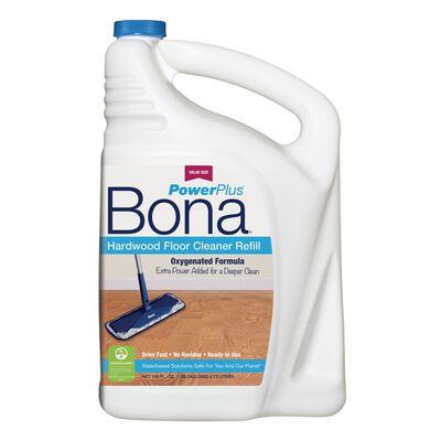 Bona PowerPlus No Scent Hardwood Floor Cleaner 160 oz. Liquid