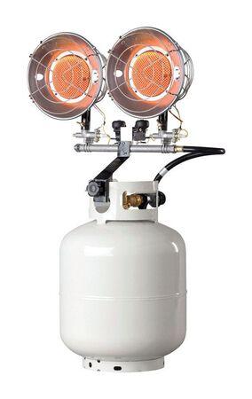 Mr. Heater Propane Radiant Tank Top Heater White