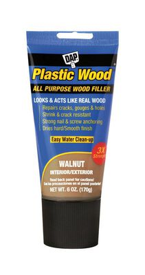 DAP Plastic Wood Walnut Stainable Wood Filler 6 oz.