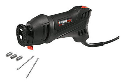 Rotozip RotoSaw Corded Spiral Saw Kit Black 30 000 rpm 5.5 amps