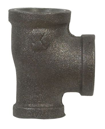 B & K 3/4 in. Dia. x 1/2 in. Dia. x 1/2 in. Dia. FPT To FPT To FPT Black Malleable Iron Reducing