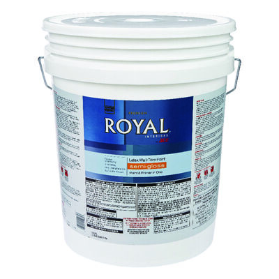 Ace Royal Interior Acrylic Latex Wall & Trim Paint High Hiding White Semi-Gloss 5 gal.