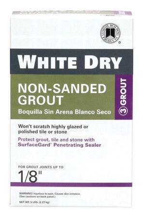 Custom White Grout 5 lb.