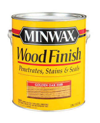 Minwax Wood Finish Transparent Oil-Based Wood Stain Golden Oak 1 gal.