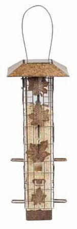 Perky-Pet Squirrel-Be-Gone Wild Bird 2 lb. Metal Tube Seed Feeder 6