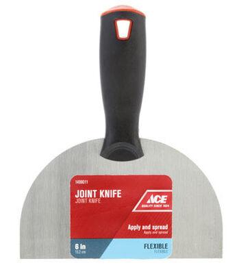 Ace 6 in. W Carbon Steel Joint Knife Flexible