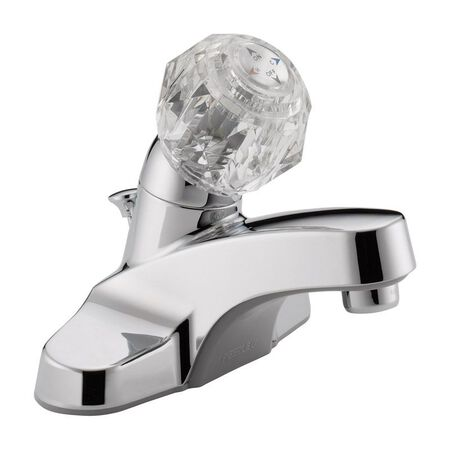 Peerless Core Single Handle Lavatory Faucet 4 in. Chrome
