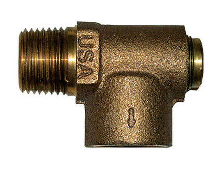 Campbell Brass Relief Valve