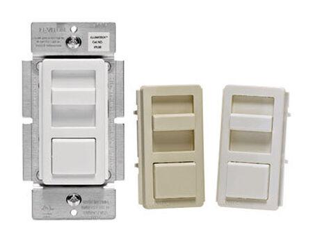 Leviton IllumaTech 150 watts Three-Way Universal Dimmer Multicolored