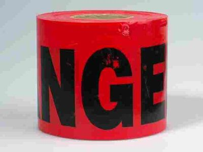 C.H. Hanson 200 ft. L x 3 in. W Barricade Tape Danger
