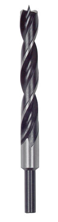 Vermont American Steel Reduced Shank 3/16 in. Dia. x 3-1/2 in. L Brad Point Drill Bit 1 pc.