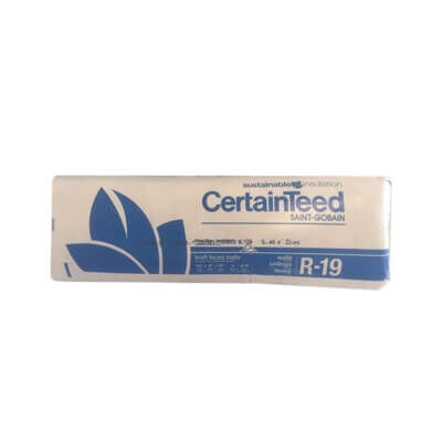 CertainTeed R19 6-1/4 x 15 Kraft Batt 87.19 sqft