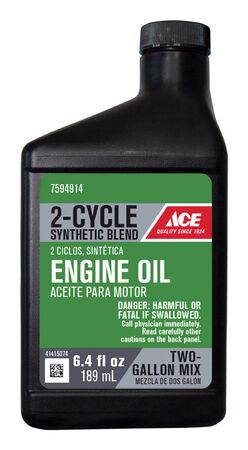 Ace JASO-FD 2 Cycle Engine Oil 6.4 oz.