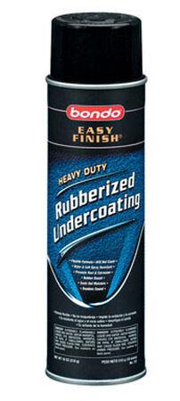 Bondo Rubber Coating 18 oz. Black Spray Can