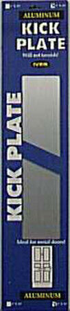 Schlage 8 in. D x 34 in. L x 8 in. W Kickplate Anodized Finish Aluminum 1 pk