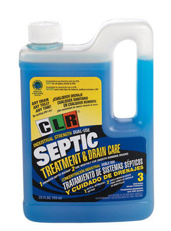 CLR Industrial Strength Dual-Use Liquid Septic Treatment 28 oz.
