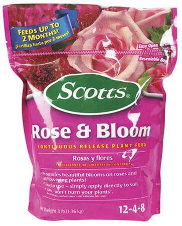Scotts Rose & Bloom Plant Food For Roses Flowers 3 lb.