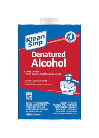 Klean Strip Denatured Alcohol Clean Burning Fuel 1 qt.