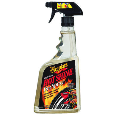 Meguiar's Hot Shine 24 oz. Plastic Bottle Tire Cleaner