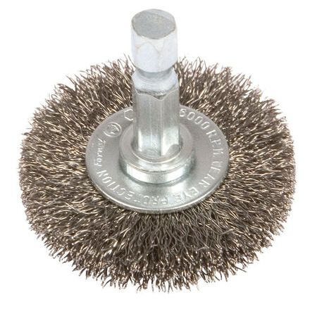 Forney 1-1/2 in. Dia. Coarse Crimped Wire Wheel Brush 6000 rpm