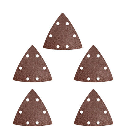 Imperial Blades Oscillating Multi-Tool Triangle Sandpaper 240 Fine Grit, 5PC