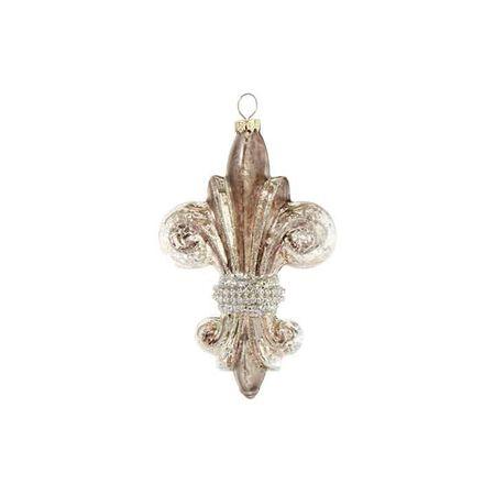 """5"""" Fleur De Lis Ornament"""