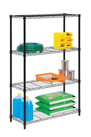 Honey Can Do 54 in. H x 14 in. W Steel Shelving Unit