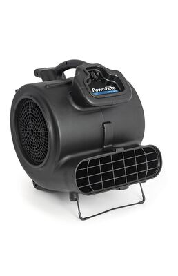 Powr-Flite PDS1 Carpet Dryer/Air Blower, 4.8 A, Black