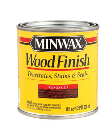Minwax Wood Finish Transparent Oil-Based Wood Stain Red Oak 1/2 pt.