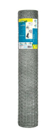 Garden Zone Poultry Netting 36 in. H x 150 ft. L 20 Ga. Silver