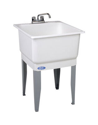 Utilatub Tub Laundry and Utility 23 in. x 25 in. x 33 in. 20 gal.