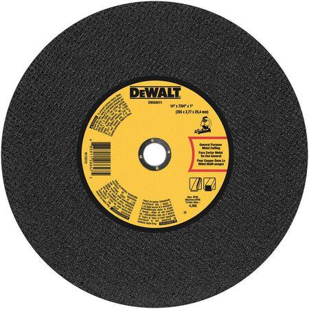 "14"" x 7/64"" x 1"" General Purpose Chop Saw Wheel-Metal"