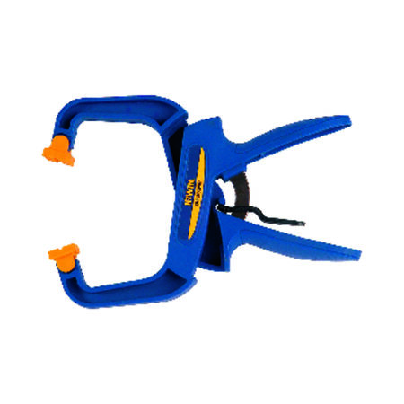 Irwin Quick-Grip Resin Locking Handi-Clamp 3 in. D