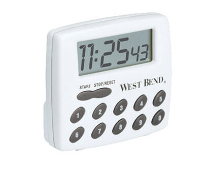 West Bend Digital 2 - Function Timer Plastic