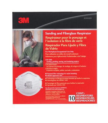 3M Sanding and Fiberglass Respirator 10 pk