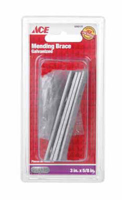 Ace 3 in. H Galvanized Steel Mending Brace 4