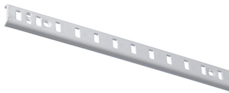 Knape & Vogt Steel White 23 Ga. Standard Shelf Bracket 60 in. L