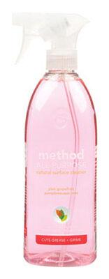 Method Pink Grapefruit Scent All Purpose Cleaner 28 oz. Liquid For Multi-Surface
