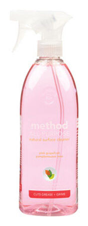 Method Pink Grapefruit Scent All Purpose Cleaner 28 oz. Liquid For Multi-Surface