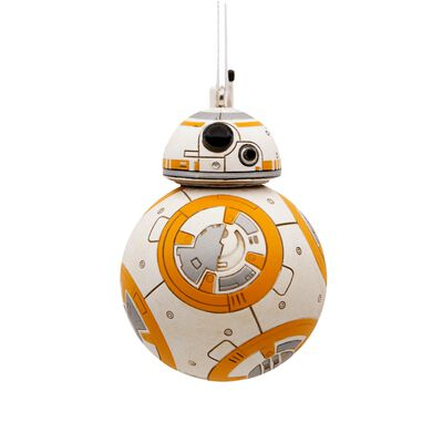 HALLMARK Force Awakens BB-8 Christmas Ornament Multicolored Resin 2.85 in. 1 pk
