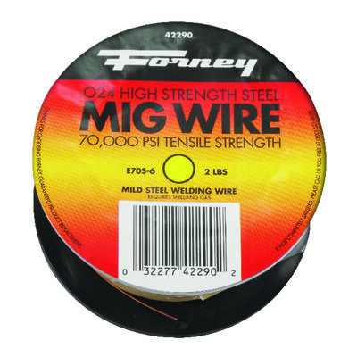 Forney 0.024 in. Dia. 2 lb. Mild Steel For For Automobile Body Repair Mig Wire